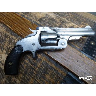 """baby russian"" = revolver de collection Smith & Wesson single action .38 first model"