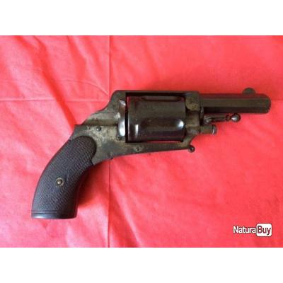 revolver de poche calibre 8/92mn