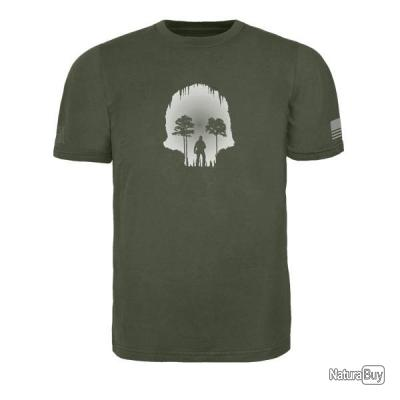 Triple Aught Design Skull Cave T Shirt Combat