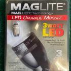 Kit LED pour torche Maglite C ou D - Modèle : 3 Cell