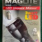 Kit LED pour torche Maglite C ou D - Modèle : 4 Cell