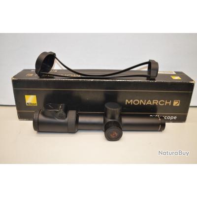 K13L- Lunette de battue  Nikon Monarch 7 d'occasion 1-4x24