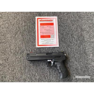 Pistolet air comprimé Weihrauch HW40 calibre 4.5mm - 1€ sans prix de réserve !!