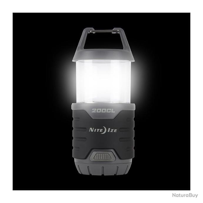 Nite Ize Radiant 1 en 3-DEL Lampe de Poche Rouge Aluminium Lanterne Lumière 250 lm