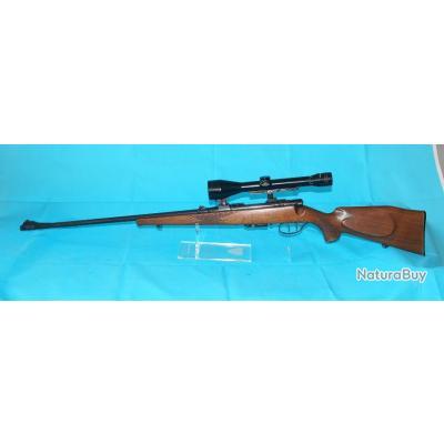 Carabine à verrou Anschutz, Modèle 1531/32, Calibre 222 rem, détente stetcher, avec lunette de visée