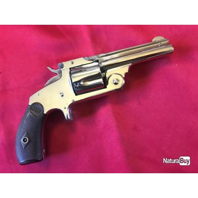 SMITH & WESSON new mod.2 - 2nd typ baby russian cal. 38S&W (048)