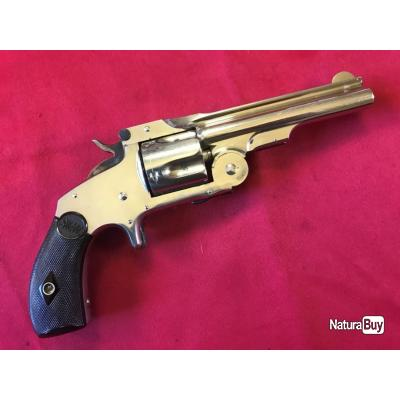 SMITH & WESSON new mod.2 - 1er typ baby russian cal. 38S&W (055)