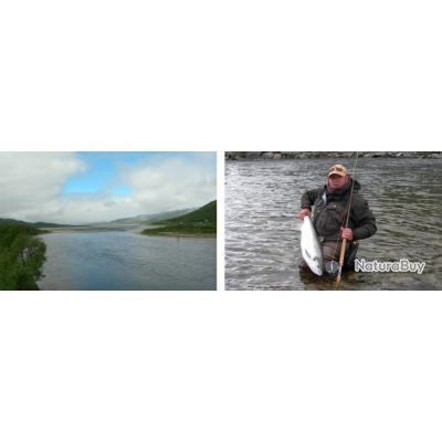 Norvège : Pêche sur la Repparfjorselva