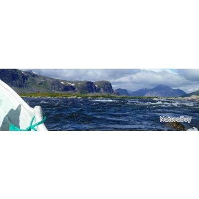 Suède : Pêche de truites, ombres & brochets