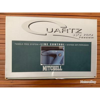Moulinet MITCHELL Quartz 330 Pro Feeder Neuf.