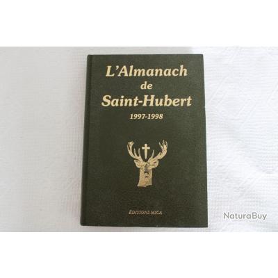 L'almanach de Saint-Hubert