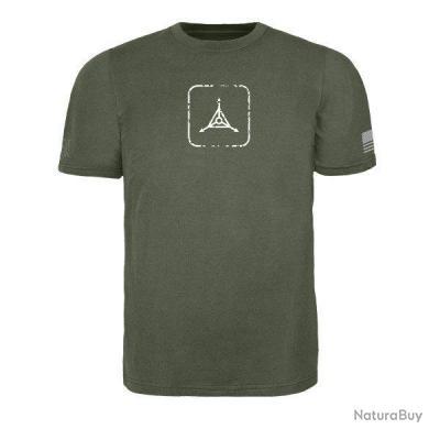 Triple Aught Design Weathered Death Card T Shirt Noir