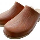 Sabot tradition cuir