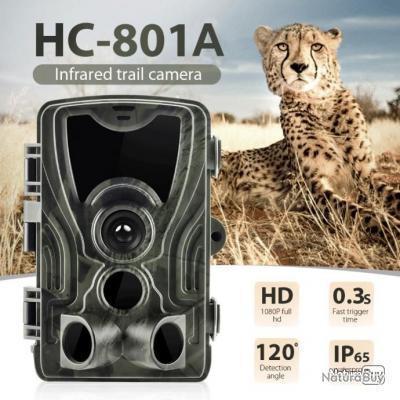 Caméra Version nocturne HC801A 16 Megapixel 1080P - Livraison gratuite !!