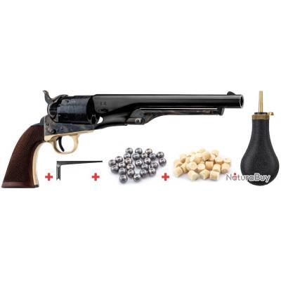 Pack Revolver Colt Army 1860 calibre .44