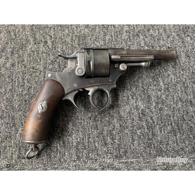 Révolver MAS 1873 civil cal 11mm73 - 1€ sans prix de réserve !!