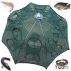 Nasse de pêche 16 trous Nylon filets de pêche Cage pliable - LIVRAISON Gratuite !!!