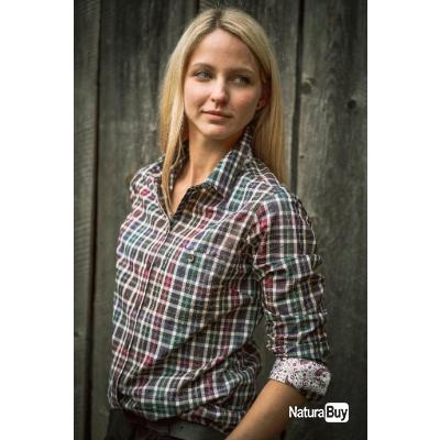 CHEMISE POUR FEMME LADY VICTORIA DEERHUNTER  COL:  Brown Check