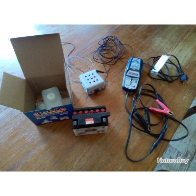 Veilleur de nuit pour la tonne. + Batterie et chargeur.