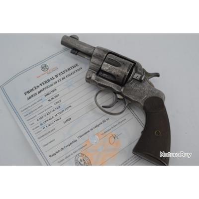 COLT 1895 GRAVER 3 pouces REVOLVER CALIBRE 41 Long Colt - USA XIXè Très bon  U.S.A. XIX eme Civil Ca
