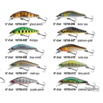 WISE MINNOW 50 FS 5.2GR  Yamame active