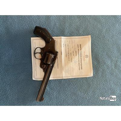 REVOLVER SMITH & WESSON SAFETY FOURTH MODEL 5 POUCES