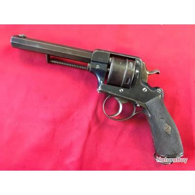 Très rare revolver réglementaire Serbe Frankotov Mod.1875 cal.450 (025)