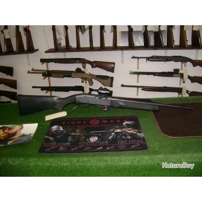 Carabine Remington 7400 synthétique cal 280 rem avec point rouge RTI