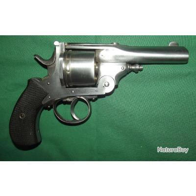 Gros revolver de type bulldog a brisure calibre 450
