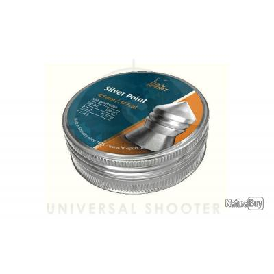 500 Plombs Silver Point H&N SPORT 4,5 mm