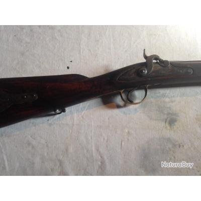 fusil à piston avec garniture fil de laiton