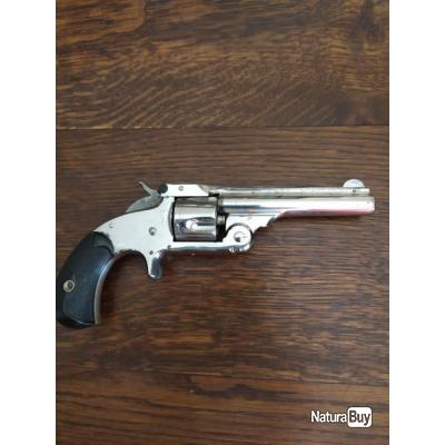 Rare: Revolver Smith & Wesson N°1 1/2-32 Single Action première production