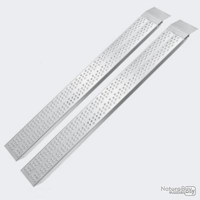 2 x rampes de chargement en aluminium 160 cm charge max 540 kg
