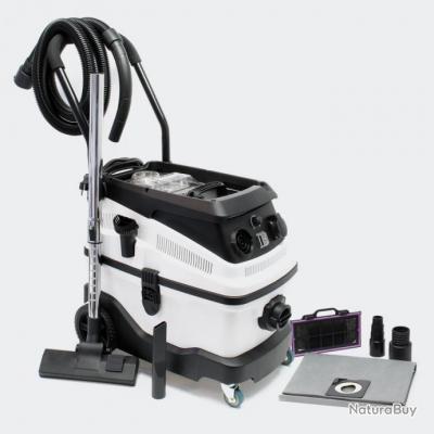 Aspirateur eau et poussière 1600W avec système de filtrage à 3 niveaux