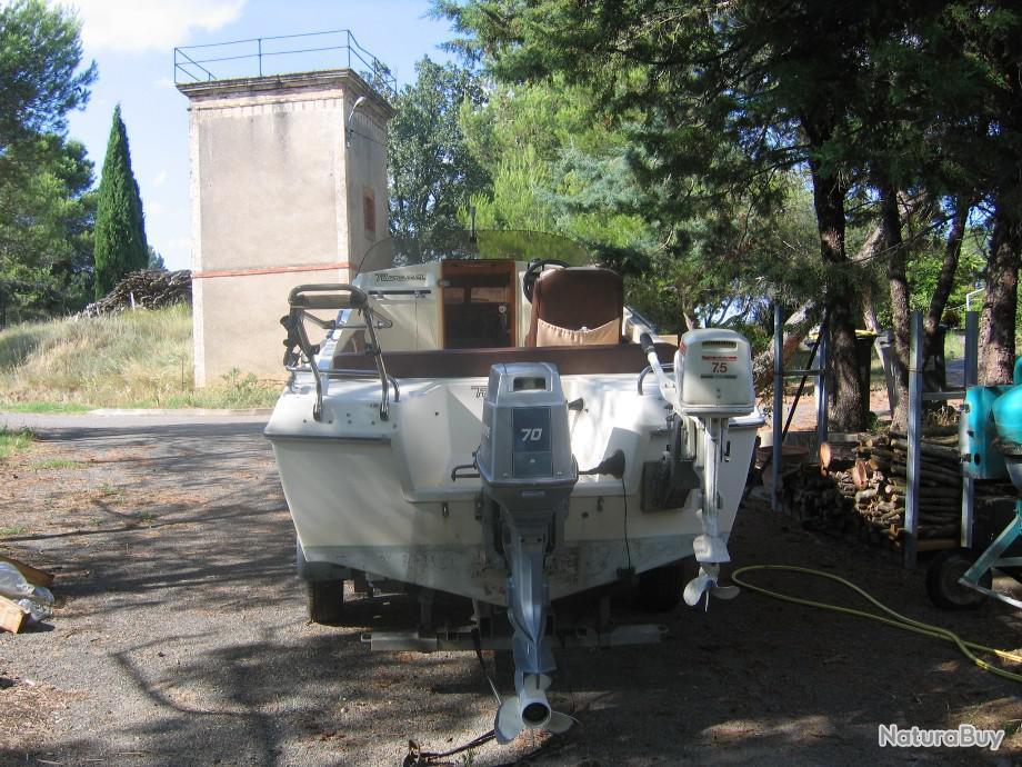 Vends bateau ROCCA PUMA S 5.20m pêche/plaisance - Moteurs (7040934)