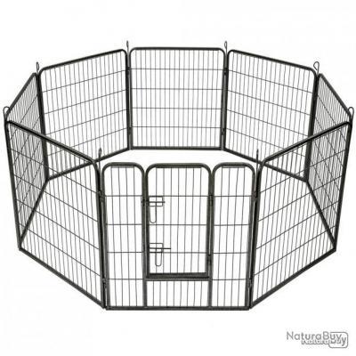 PN-Enclos extérieur pour chiot ou autre modulable diamètre 60cm