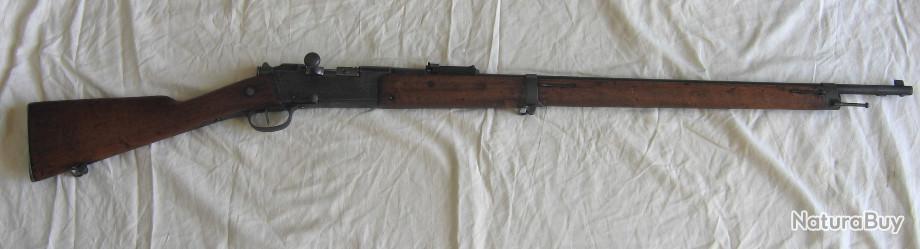 1//6 WWI guerre mondiale deux faits maison Français Lebel M1886//93 Fusil