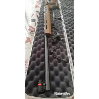 Carabine ANSCHUTZ modèle SUPER MATCH 1913 L ... calibre 22LR mono coup