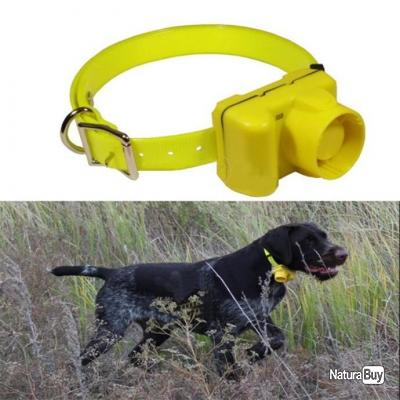 Colliers de Repérage BEEPER COLLAR à Beep Sonore - 8 Modes - Rechargeable - Jaune ou Camouflage