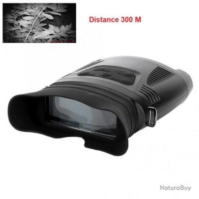 Binoculaire Jumelle 7x21 - Vision Nocturne - WILDGAMEPLUS NV200C - Infrarouge - Zoom Numérique