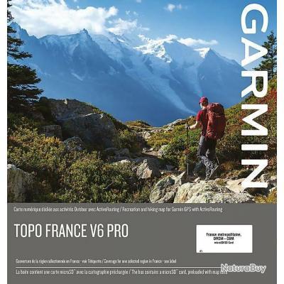 Garmin Topo France V6 PRO France entière + CORSE + DROM-COM