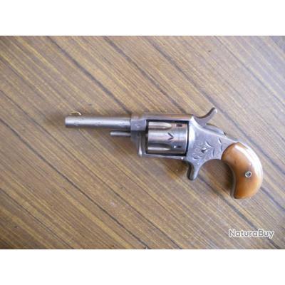 Tres beau revolver HOPKINS & ALLEN -Ranger n°2 ,calibre 32RF