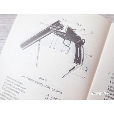 Pistolet lance-fusées, 17/38 modèle 1 400f_00004_Notice-pour-le-pistolet-lance-fusee-Suisse-Mdle-17-38---Raketenpistole
