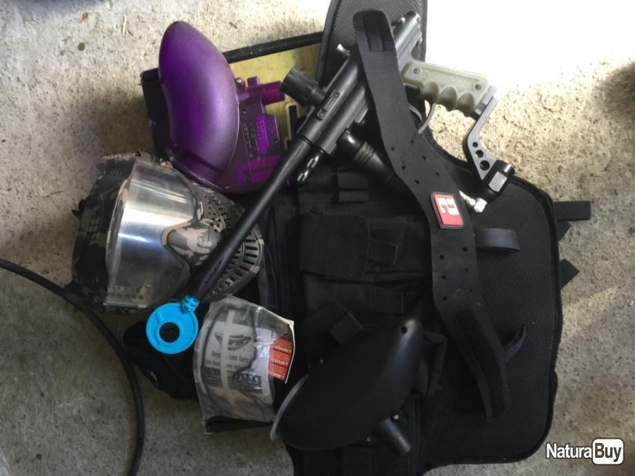 Annonce billes paintball : Vends kiT paintball