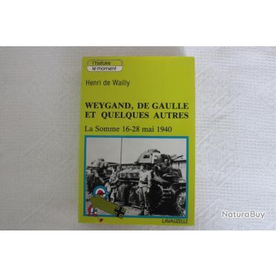 Weygand, De Gaulle et quelques autres, la Somme 16-28 mai 1940