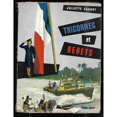 tricornes et bérets de juliette gaubry, marine indochine