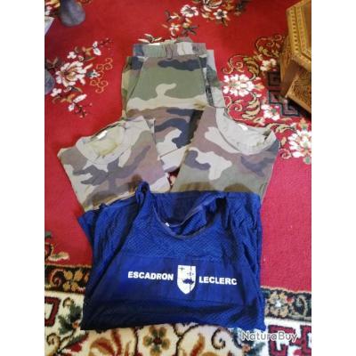 Lot vêtement militaire - armée française