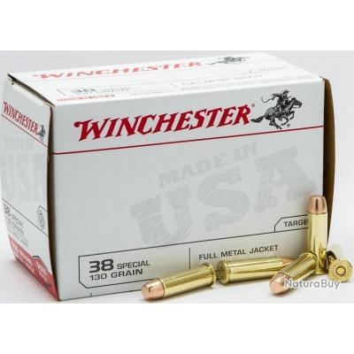 Winchester FMJ cal.38special 130gr PAR 100