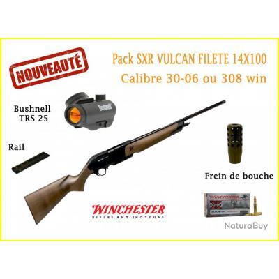 Pack Winchester SXR Vulcan filetée calibre 30-06 ou 308 win 308 Win