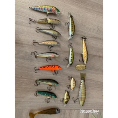 15 rapala truite divers